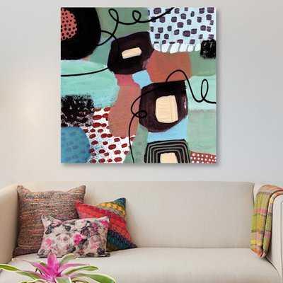 'Jazz Abstract' Painting Print on Canvas - Wayfair
