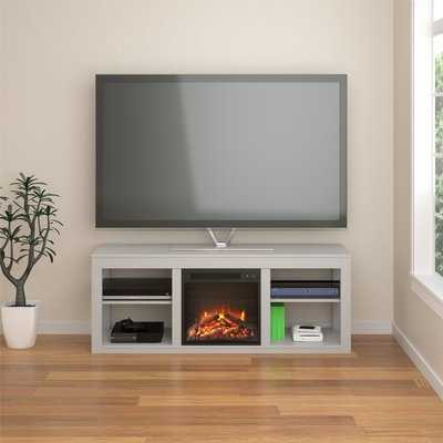 "Rickard TV Stand for TVs up to 65"" with Fireplace - Wayfair"