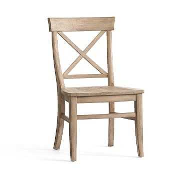 Aaron Side Chair, Seadrift - Pottery Barn
