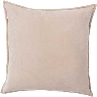 Velizh Poly Euro Pillow, Browns/Tans - Home Depot
