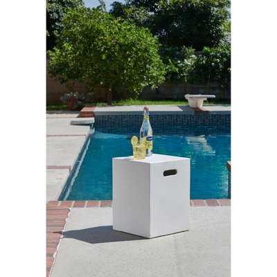 Richert Outdoor/Indoor Concrete Side Table - Wayfair