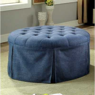Trefethen Cocktail Ottoman - Wayfair