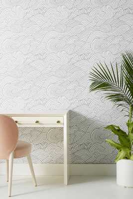 Mare Wave Wallpaper - Anthropologie