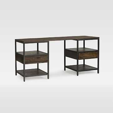 Logan Industrial Desk - West Elm