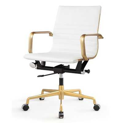Vegan Leather Office Chair - Wayfair
