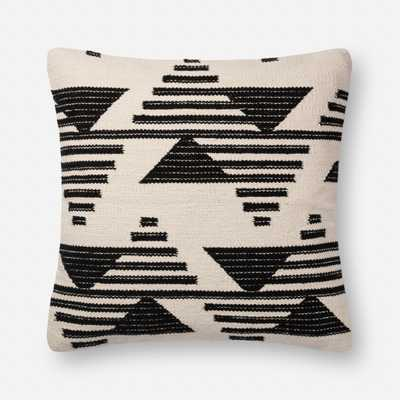 PILLOWS - BLACK / WHITE - Magnolia Home by Joana Gaines Crafted by Loloi Rugs