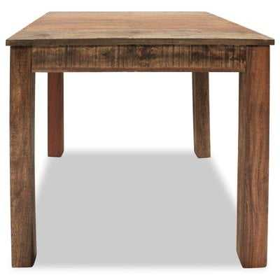 Bagneux Solid Wood Dining Table - Wayfair
