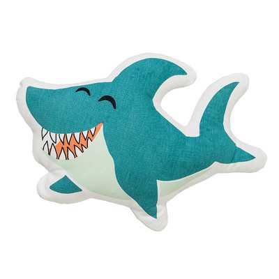 Nikolas Shark Pillow - Wayfair