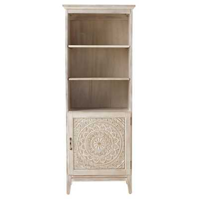 Home Decorators Collection Chennai 25 in. W Linen Cabinet in White Wash - Home Depot