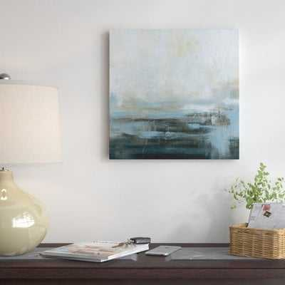 'Morning Abstract' Oil Painting Print on Wrapped Canvas - Wayfair