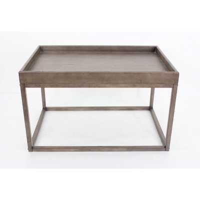 Litechnologies Inc. Dba Brown Wood Coffee Table - Home Depot