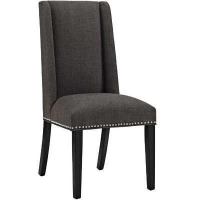 Florinda Wood Leg Upholstered Dining Chair - Wayfair