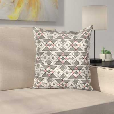 Geometric Aztec Ethnic Cushion Pillow Cover - Wayfair