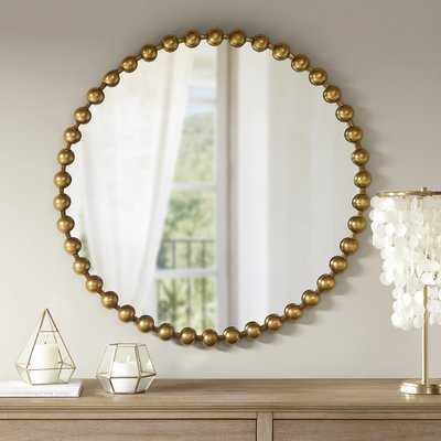 Marlowe Accent Mirror - Gold - Wayfair