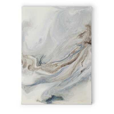 Premium Gallery 'Ephemere' Framed Painting Print on Wrapped Canvas - Wayfair