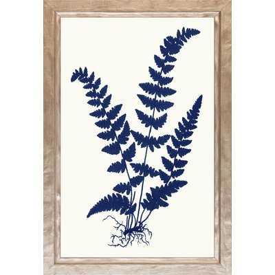 'Watercolor Leaf Studies' Picture Frame Graphic Art - Birch Lane