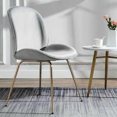 Amoroso Velvet Side Chair - Wayfair