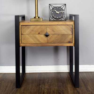 Delphine 1-Drawer End Table - Wayfair