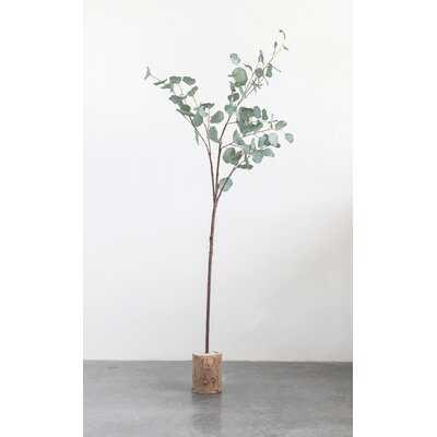"60"" Faux Eucalyptus Branch (Set Of 6 Pieces) - Wayfair"