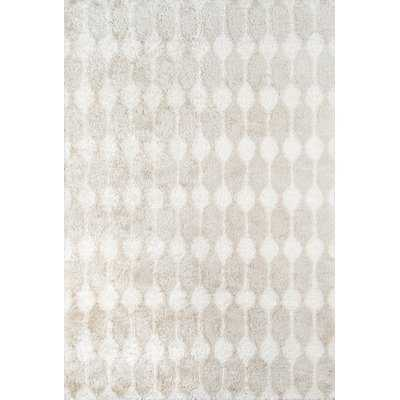 Retro Hand-Tufted Taupe Area Rug - AllModern