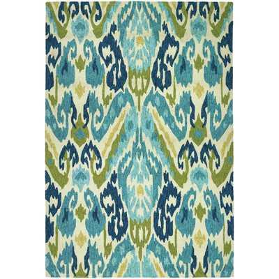 Mariann Hand-Woven Green/Blue Indoor/Outdoor Area Rug - Wayfair