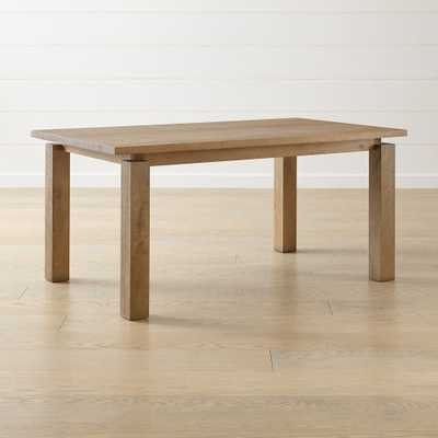 "Walker Fog 65"" Dining Table - Crate and Barrel"