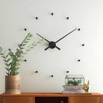 """Calvet Wall Clock 31"""" DIAM. - Wayfair"""