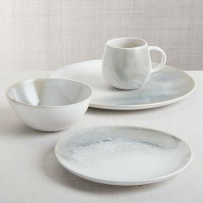 Ora Stoneware Dinnerware 4-Piece Place Setting - Crate and Barrel