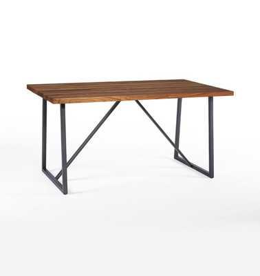 "Canby Trestle Table - 60"" - Rejuvenation"
