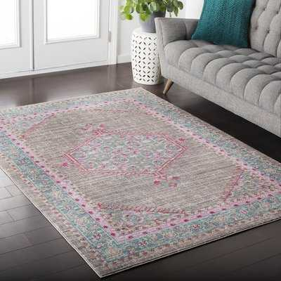 Fields Pink Area Rug - Wayfair