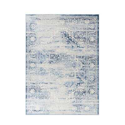 Mckeel Modern Blue Area Rug - Wayfair