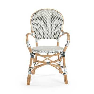 Tawanna Rattan Arm Chair (Set of 2) - Wayfair