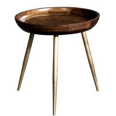 Tondreau Wooden Tray Table - Wayfair