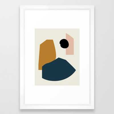Shape study #1 - Lola Collection Framed Art Print by Mpgmb - Society6
