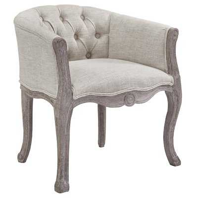 Vasques Vintage French Upholstered Dining Chair - Wayfair