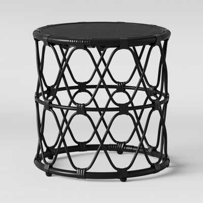 Jewel Round Side Table Black - Opalhouse - Target