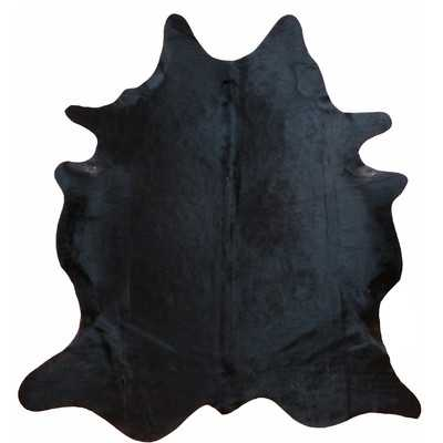 Glendale Brazilian Cowhide Natural Black Area Rug - AllModern