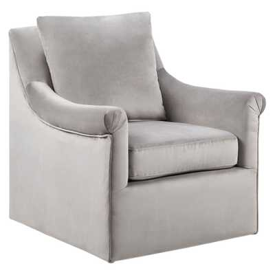 Sparta Swivel Chair - Gray - Target