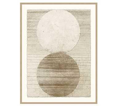 "Evolve Abstract Framed Print, 35 x 46"" - Pottery Barn"