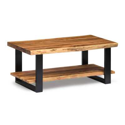Alpine Natural Coffee Table - Home Depot