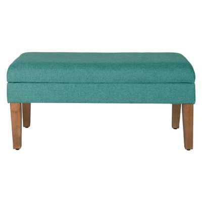 Storage Bench Teal (Blue) - HomePop - Target