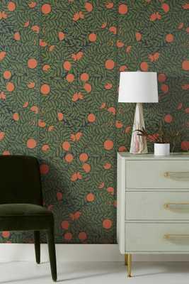 Orange Grove Wallpaper - Anthropologie