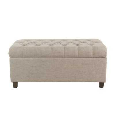 Ranshaw Button Tufted Upholstered Storage Bench - Wayfair