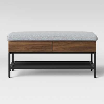 Loring Storage Bench Walnut Brown - Project 62 - Target