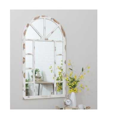 Kirwan Farmhouse Arch Wall Mirror - Wayfair