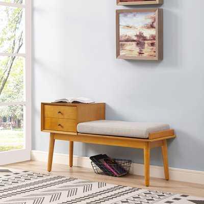 Easmor Upholstered Storage Bench - AllModern