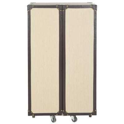 Grayson Bar Cabinet with Wine Storage - Wayfair