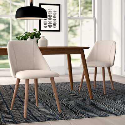 Brie Upholstered Dining Chair - Set of 2 - AllModern