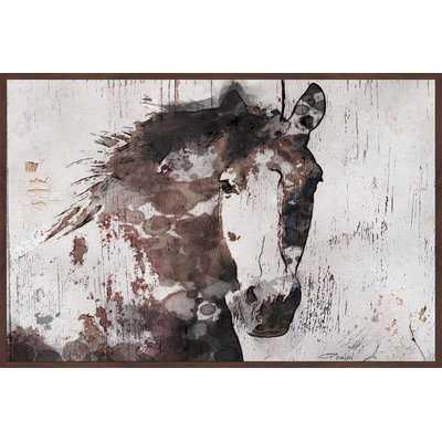 'Gorgeous Horse' Print on Canvas - AllModern