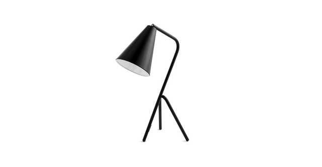 Gira Matte Black Table Lamp - Article